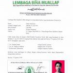 Syahadah Feldy Himawan, Nama Setelah Masuk Islam: Fadli Muhamad