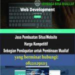 Usaha Jasa Pembuatan Website oleh Lembaga Bina Muallaf (LBM)